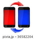 モバイル フォン 電話のイラスト 36582204