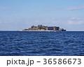 軍艦島 世界文化遺産 島の写真 36586673