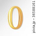 ベクトル 0 数字のイラスト 36588161