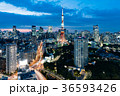 東京タワー 都市風景 都会の写真 36593426