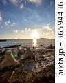 長崎 夕陽 海の写真 36594436