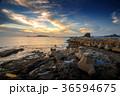 長崎 夕陽 海の写真 36594675