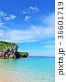 沖縄 美しい青い海 36601719