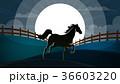 馬 動物 牧場のイラスト 36603220