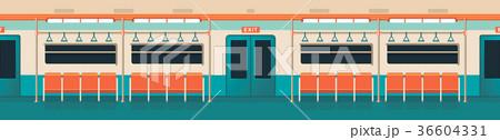 underground carriage interior 36604331