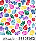 宝石 パターン 柄のイラスト 36605952