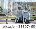 martial art sculptures on Exchange Square 36607465
