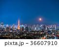 月光りの東京夜景 36607910