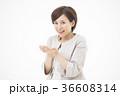 ビジネス 女性 笑顔の写真 36608314