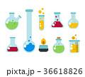 化学 実験 実験するのイラスト 36618826
