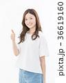 いいね グッド 女性の写真 36619160