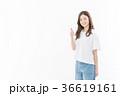 グッド 女性 笑顔の写真 36619161