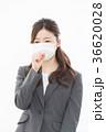 ビジネスウーマン 風邪   36620028
