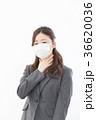 ビジネスウーマン 風邪  36620036