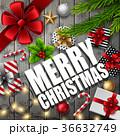 クリスマス プレゼント 電球のイラスト 36632749