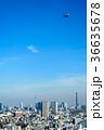 東京上空の飛行船 36635678