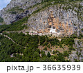 Aerial view on Ostrog Monastery church 36635939