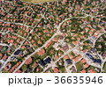 Aerial view of houses in Zlatibor, Serbia 36635946