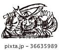 ねぶた 水彩画 36635989