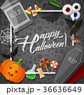 ハロウィン ハロウィーン カボチャのイラスト 36636649