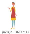 案内する 主婦 イラスト 36637147