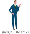 人物 ベクター ビジネスマンのイラスト 36637177