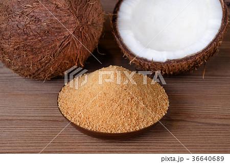 organic coconut sugar, healthy alternative 36640689