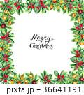 クリスマス あいさつ グリーティングのイラスト 36641191