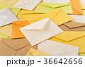 たくさんの手紙 たまったメール 封筒 既読 ビジネスメール 36642656