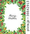 クリスマス あいさつ グリーティングのイラスト 36642913
