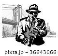 楽器 人 男のイラスト 36643066