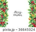 クリスマス デコレーション 装飾のイラスト 36645024