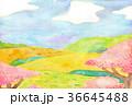 自然風景 水彩 36645488