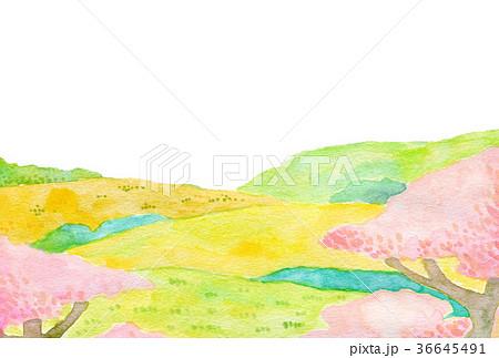 自然風景 水彩 36645491