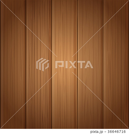 Wood board wall vector illustration 36646716