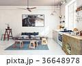 design  kitchen interior. 36648978