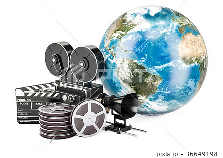 World cinematography, film industry concept 36649198