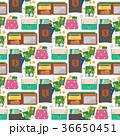 カバン 巾着 巾着袋のイラスト 36650451