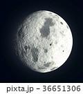 鮮豔細緻的真實太空行星場景紋理背景:月球(高分辨率 3D CG 渲染∕著色插圖) 36651306