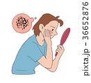 肌のトラブル 36652876