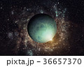 Planet Uranus. Elements of this image furnished by 36657370