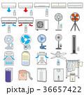 様々な電化製品のイラスト / 夏 36657422