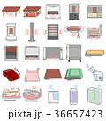 様々な電化製品のイラスト / 冬 36657423