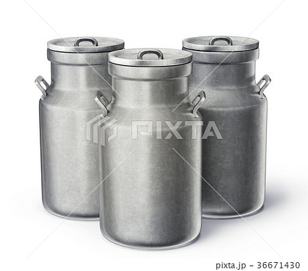 milk cans 36671430
