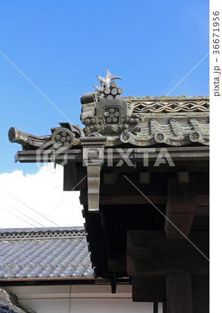 青柳家の旧松本城大手門 安曇野市有形文化財 36671956
