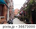 中国、上海の路地裏 36673000