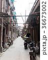 中国、上海の路地裏 36673002
