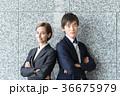 スーツ 人物 ビジネスの写真 36675979