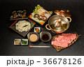 しゃぶしゃぶ 鍋料理 牛肉の写真 36678126