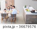 食事 夕飯 家族の写真 36679576